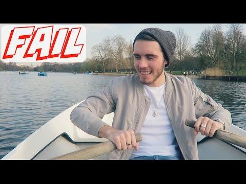 CRASHING A Rowing Boat!