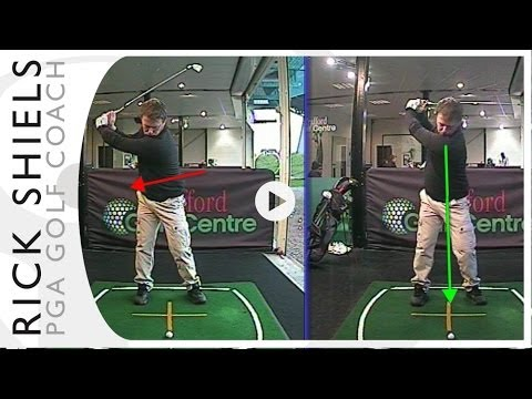 STOPPING LATERAL SLIDE GOLF LESSON