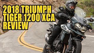 10. 2018 Triumph Tiger 1200 XCa Review
