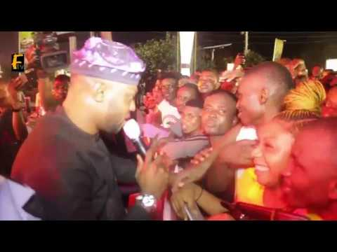 Goldberg's Unlimited Faaji Storms Ikeja With Odunlade Adekola Olamide With Fans  – The Take Over
