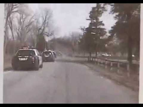 shoot out - Omaha Police follow a robbery suspect who fires on officers during the pursuit as well as a shootout at the end, where one cruiser ends up in a less than des...