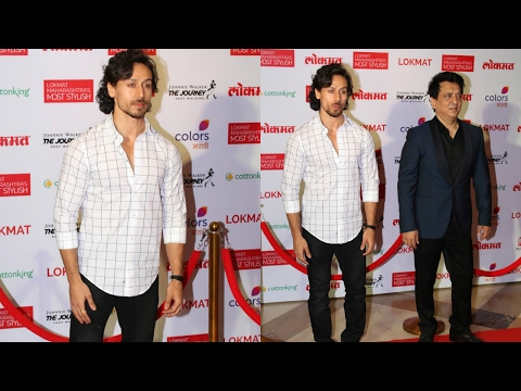 Tiger Shroff & Sajid Nadiadwala Attend Maharashtra Lokmat Awards