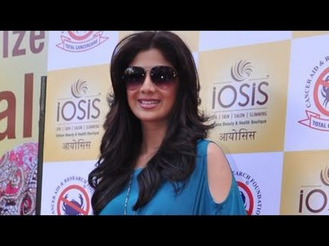Shilpa Shetty Kundra Supports Cancer Aid And Research Academy