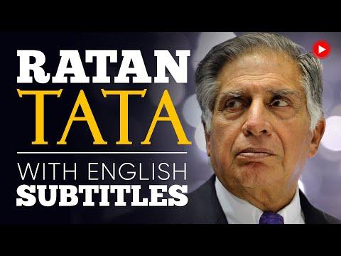 ENGLISH SPEECH | RATAN TATA: India's Car Industry  (English Subtitles)