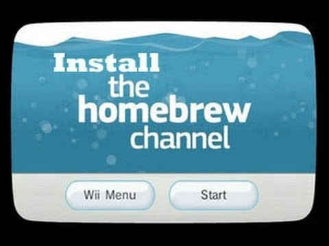 comment installer homebrew channel