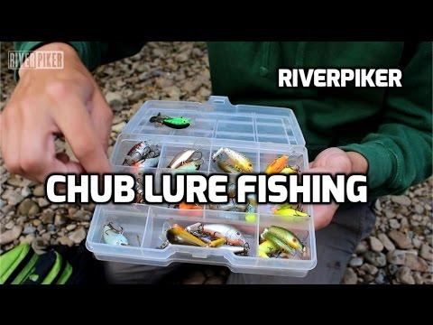Chub lure fishing with plugs- (video 146) (видео)