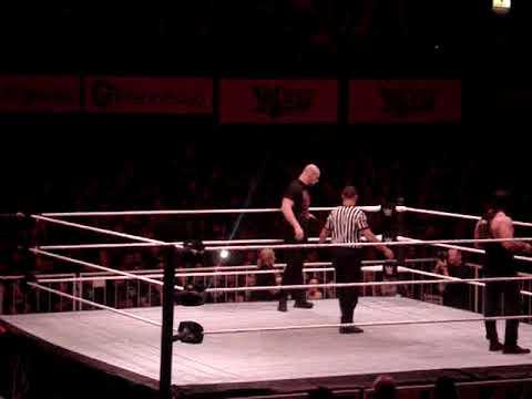 Raw Live in Argentina 2018 Baron Corbin, D  McIntyre, B  Lashey vs Elias