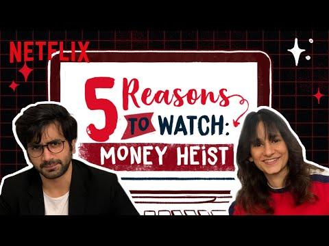 Yashaswini Dayama VS Ayush Mehra: The BEST Reasons To Watch Money Heist | Netflix India