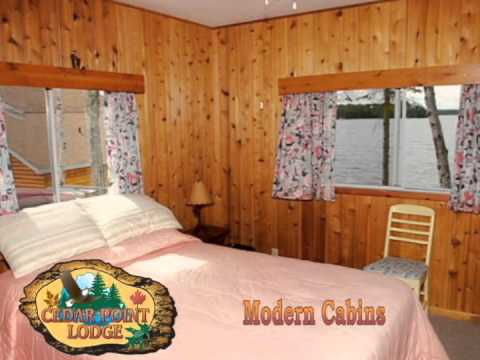 Cedar Point Lodge Modern Cabins