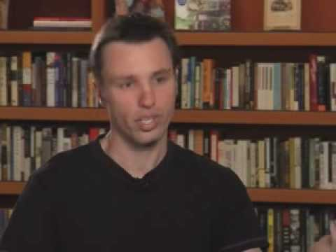 Markus Zusak discussing The Book Thief