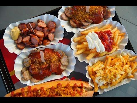 Street Food In Germany  Amazing Street Foods In Germany