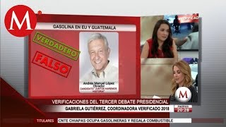 Video ¿Qué candidatos mintieron en el tercer debate presidencial 2018? |Verificado 2018 MP3, 3GP, MP4, WEBM, AVI, FLV Agustus 2018
