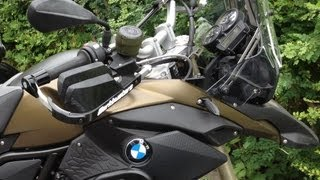 8. Installing Extras on New BMW GS800