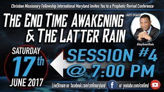 Revival Conference 2017 Session 4 - Saturday, June 17, 2017With Bishop Bernard NwakaCMFI Westminster, Maryland