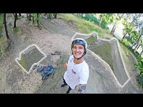 FINALLY DID MY DREAM TRICKONDIRT JUMPS!! (BMX) (видео)