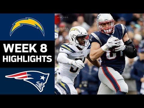 Chargers vs. Patriots | NFL Week 8 Game Highlights - Thời lượng: 9:36.