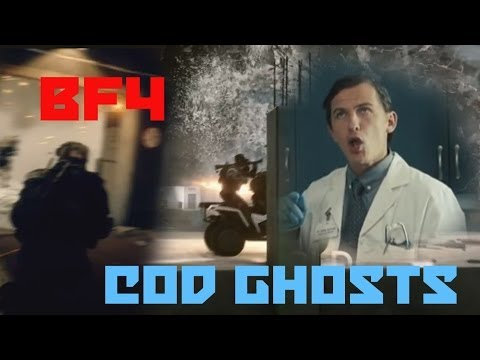 Cod Ghosts vs Battlefield 4 Funny Comparison PART 4 (Fanboys)