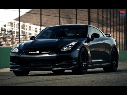 12 - The AMS Performance Alpha 12 Nissan GT-R is the 1400-horsepower answer to the docile 545-horsepower standard Nissan GT-R. We take the tuned Godzilla to Willo...