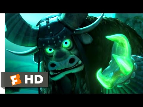 Kung Fu Panda 3 (2016) - Destroying The Jade Palace Scene (6/10) | Movieclips