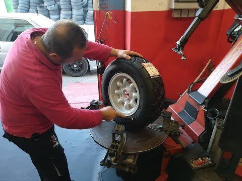 Classic Mini - GB Wheels 5x10 & Yokohama Advan A032R Tyres Install