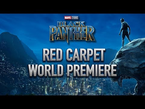 Marvel Studios' Black Panther World Premiere Red Carpet