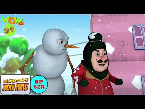Snow Man - Motu Patlu In Hindi WITH ENGLISH, SPANISH & FRENCH SUBTITLES