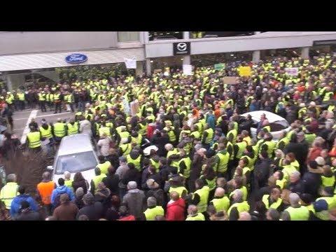 Gelbwesten-Protest in Stuttgart: Schwaben proben eine ...