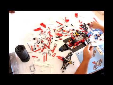 Конструктор LEGO Technic 42000 Гоночный автомобиль Гран-при Formula 1