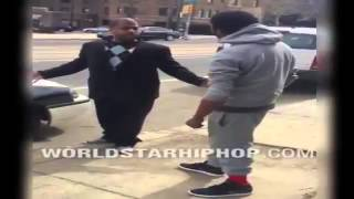 Dude Catches A Beating After Starting A Fight!