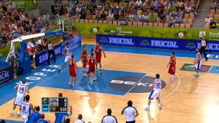 Dunk of the Game G. Printezis GRE-RUS EuroBasket 2013