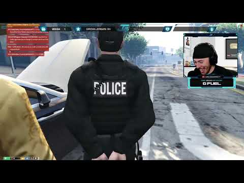 GTA 5 Roleplay Funny Moments! POLICE Mod Stream Highlights!