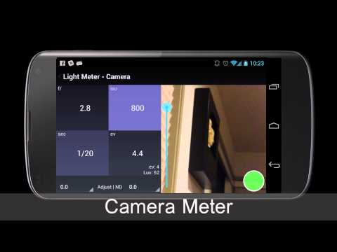 Video of Light Meter Tools