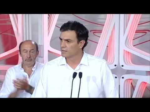 Pedro Sánchez, elegido este domingo Secretario General del PSOE en la votación directa de los militantes