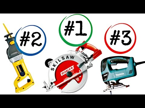Top 5 Saws You Can't Live Without