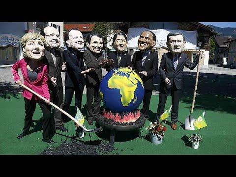 Γερμάνια: Διαδηλώσεις κατά της G7