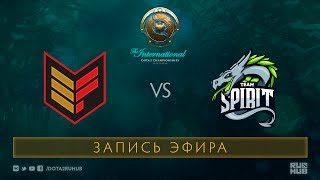 Effect vs Spirit, The International 2017 Qualifiers [GodHunt, V1lat]
