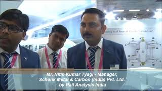 Exclusive Interview With Mr. Nitin Kumar Tyagi, Manager - Schunk Metal & Carbon