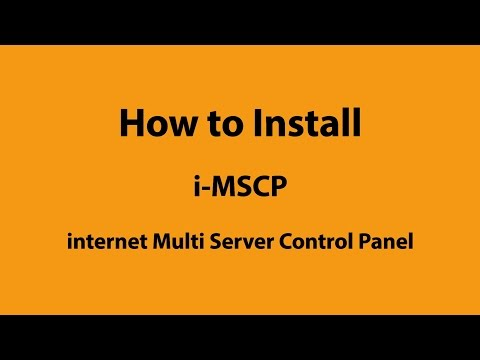 How to install i-MSCP