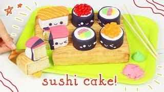 How to Make a Kawaii Sushi Cake! 🍣