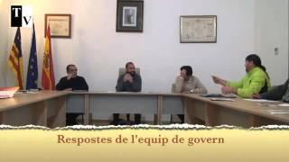 Respostes de l'equip de govern