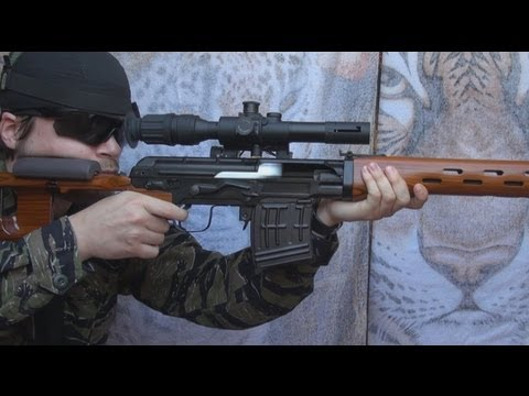 (Airsoft) SVD WE (Ace VD) Wood/aluminum Version