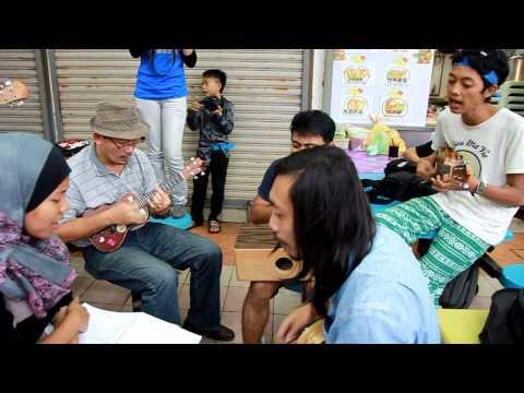 MUG Penang road tour ,Bengawan Solo cover