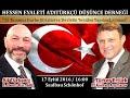 Hessen ADD Frankfurt Konferansı | Türker Ertürk & Ali Türkşen | 17.09.2016