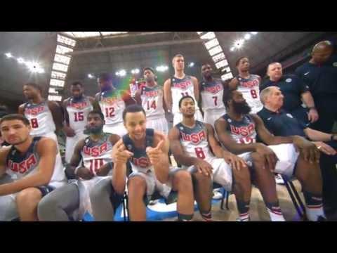 Video: Best of Phantom: USA Basketball Practice in Barcelona!