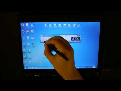 Thinkpad X200 Tablet HD Demo