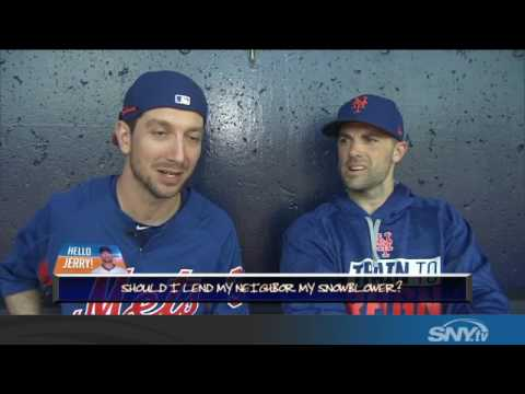 Video: #HelloJerry! David Wright joins Jerry Blevins to answer your questions!
