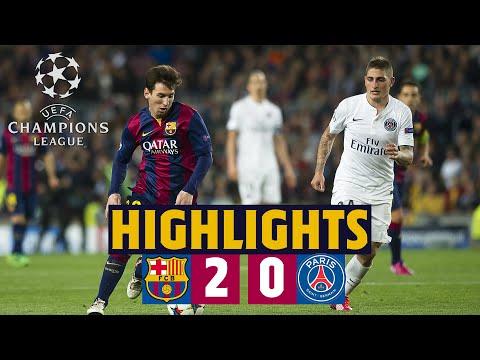 🔙⚽HIGHLIGHTS | Barça - PSG (2-0) Champions League quarter-final second leg 2014/15