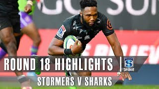 Stormers v Sharks Rd.18 2019 Super rugby video highlights | Super Rugby Video Highlights