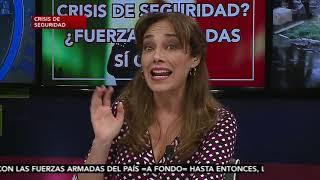 "A Fondo con Elisa Alanís: ""Ejercito de guerra o ejercito de paz"""