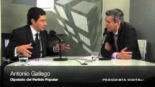 Antonio Gallego diputado del PP. 2 octubre 2012